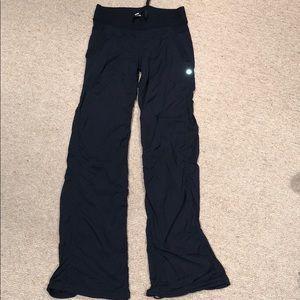Lulu Lemon Long Pants Black Size 2